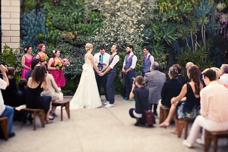 ( Wedding Cabaret ): Real Wedding Inspiration: Merrill & Tim