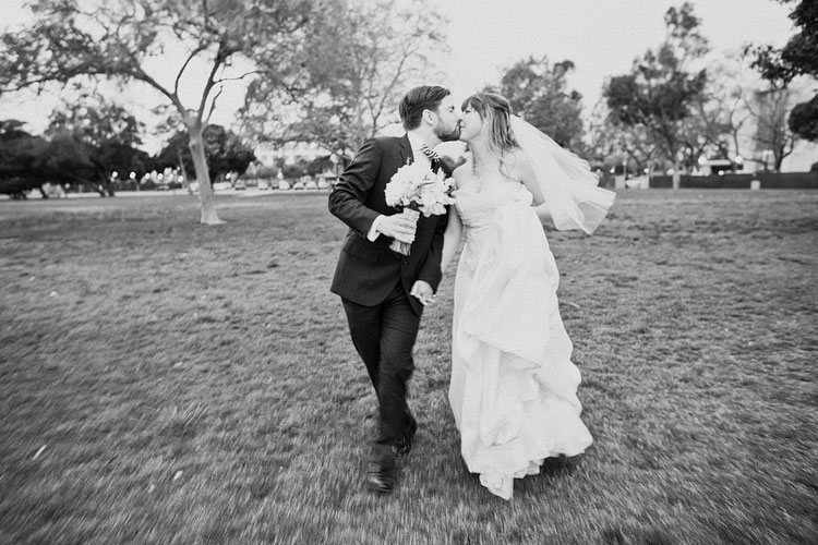17_super-fun-happy-Los-Angeles-Natural-history-museum-wedding-photos