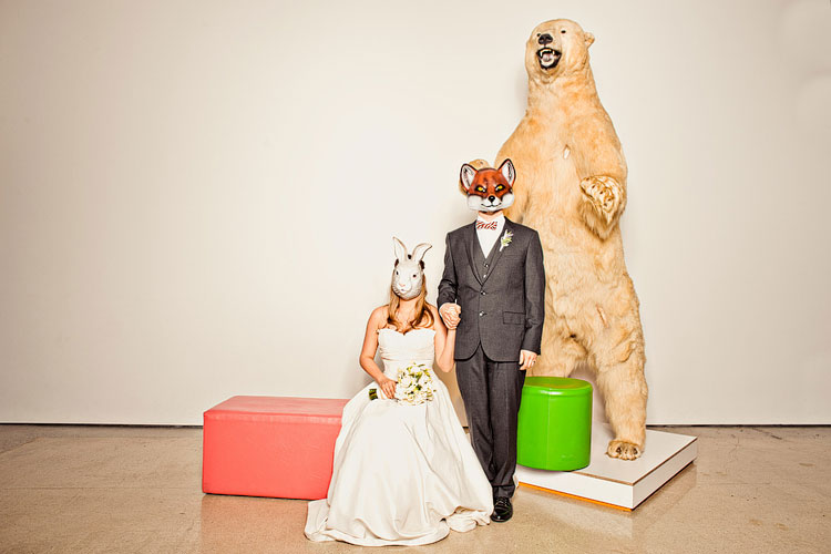 24_super-fun-happy-Los-Angeles-Natural-history-museum-wedding-photos